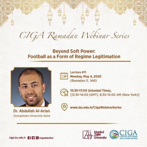 CIGA Ramadan Webinar Series - Lecture #11