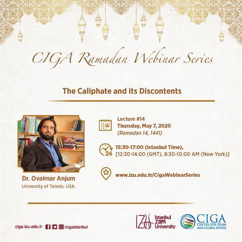 CIGA Ramadan Webinar Series - Lecture #14