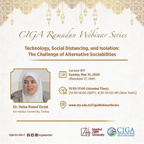 CIGA Ramadan Webinar Series - Lecture #17