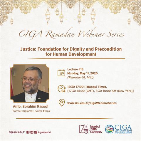 CIGA Ramadan Webinar Series - Lecture #18