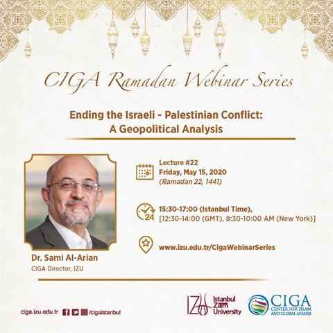 CIGA Ramadan Webinar Series - Lecture #22