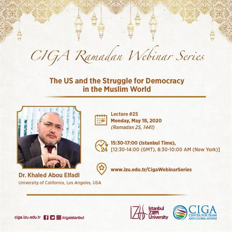 CIGA Ramadan Webinar Series - Lecture #25