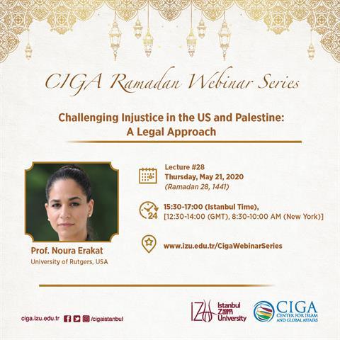 CIGA Ramadan Webinar Series - Lecture #28