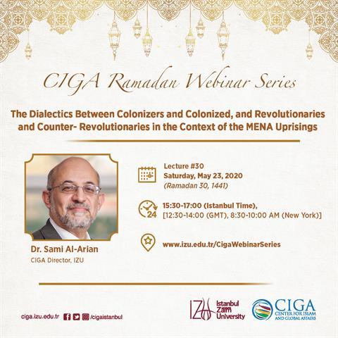 CIGA Ramadan Webinar Series - Lecture #30