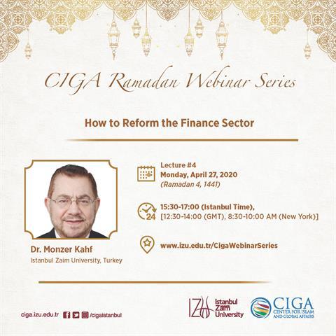 CIGA Ramadan Webinar Series - Lecture #4