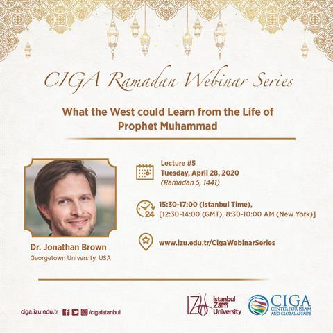 CIGA Ramadan Webinar Series - Lecture #5