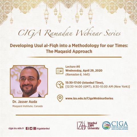 CIGA Ramadan Webinar Series - Lecture #6