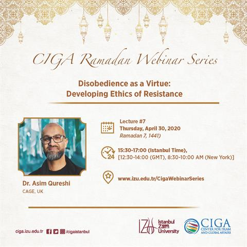 CIGA Ramadan Webinar Series - Lecture #7