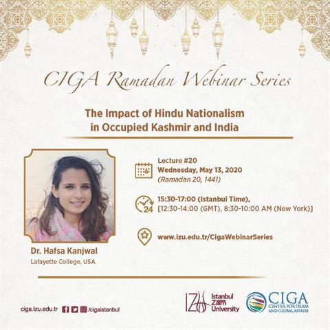 CIGA Ramadan Webinar Series - Lecture #20