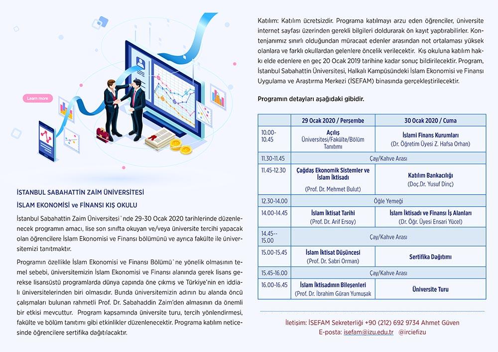 islam ekonomi kış okulu program
