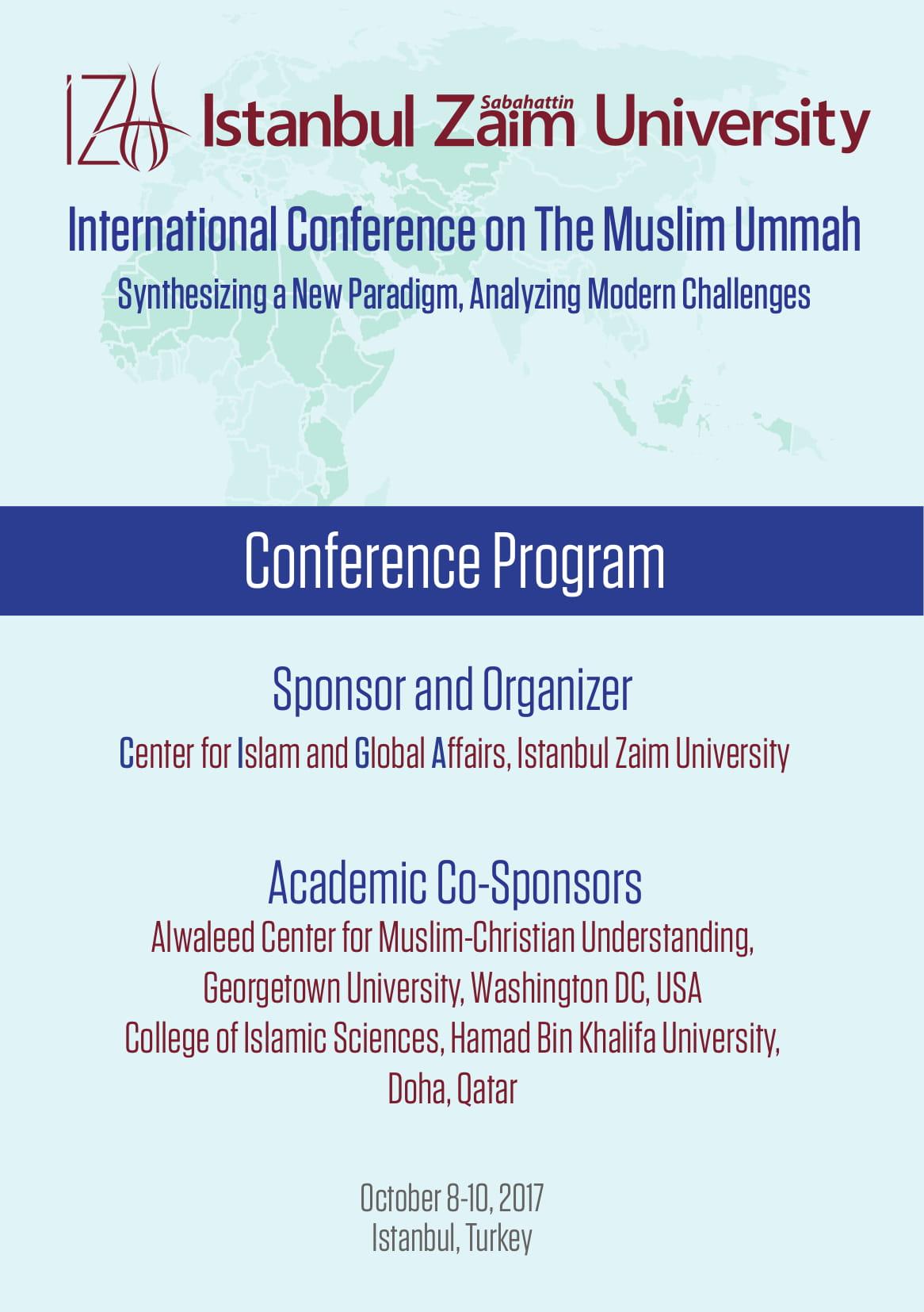 1st International Conference on The Muslim Ummah